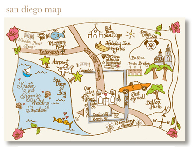 Hand Drawn Maps For Wedding Guests Tell Your Guests Where